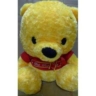 [日版] Winnie the Pooh 小熊維尼毛公仔 - 鬆毛
