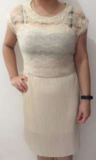 Dress/Gaun pesta Mango ori