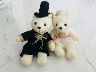 Wedding couple bears