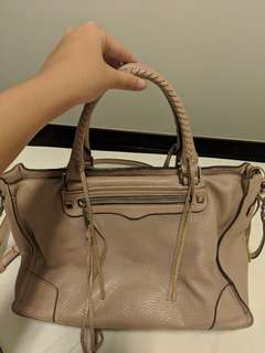 Rebecca Minkoff Regan Satchel Tote in Vintage Pink