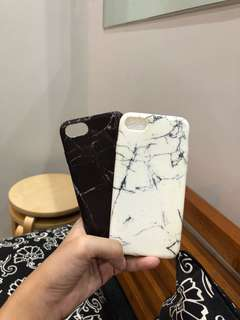 Marble Black & White iphone case soft case iphone 7 iphone 8
