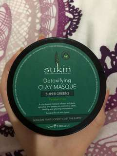 Detoxifying clay masque ORGANIC