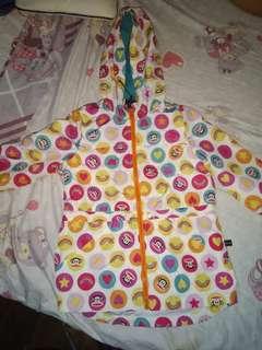 Preloved Paul Frank Jacket or raincoat