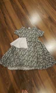 Dress lebar anak