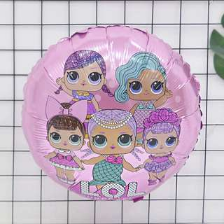 PO LOL Surprise Doll Balloons