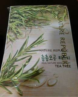 Nature Repubic Tea Tree Mask
