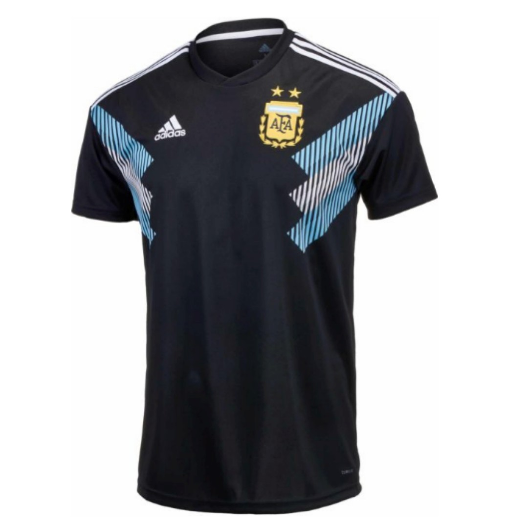 cbae370ab05 Adidas Argentina Away Jersey 2018-19, Sports, Sports Apparel on ...