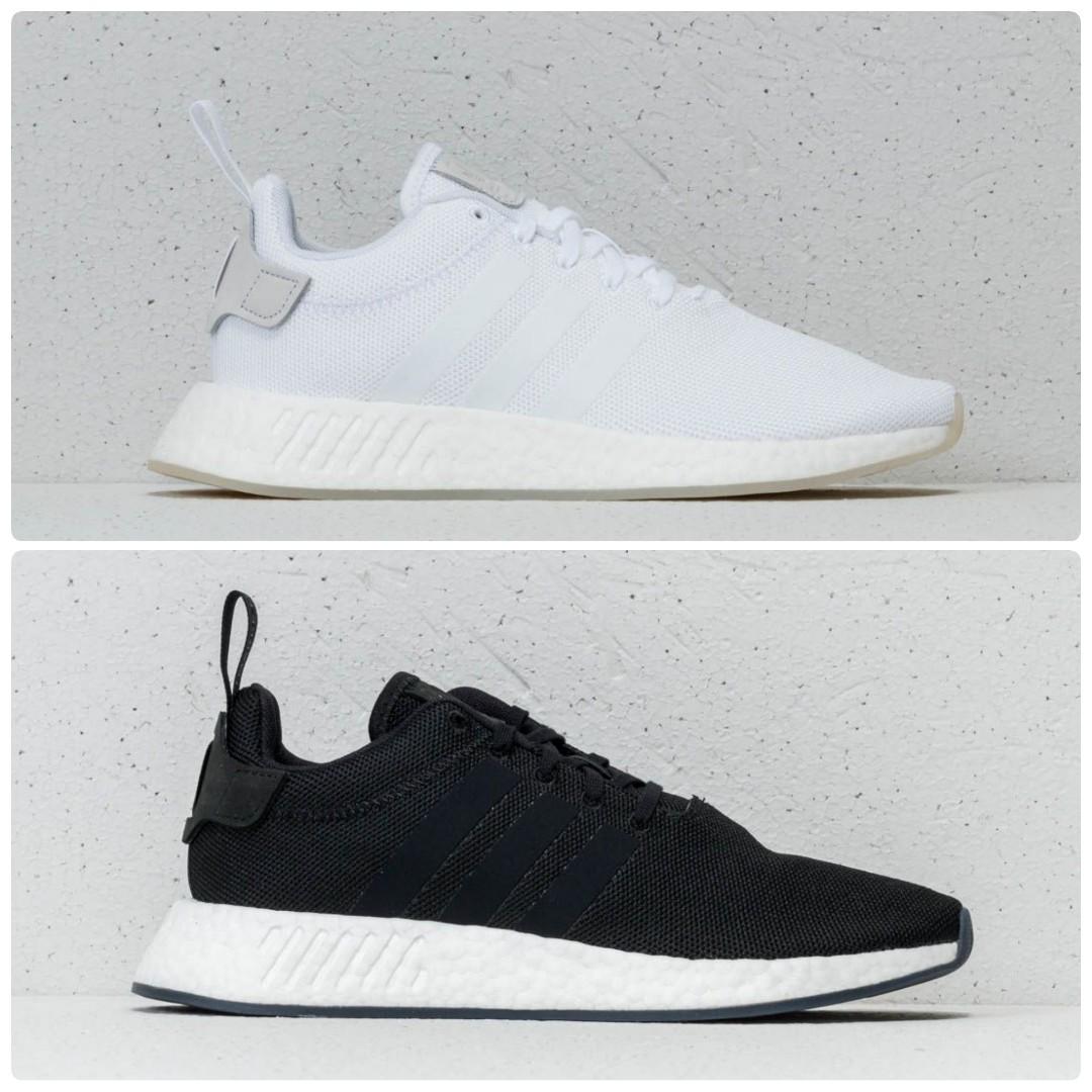 Sale Adidas Nmd R2 White Black Men S Fashion