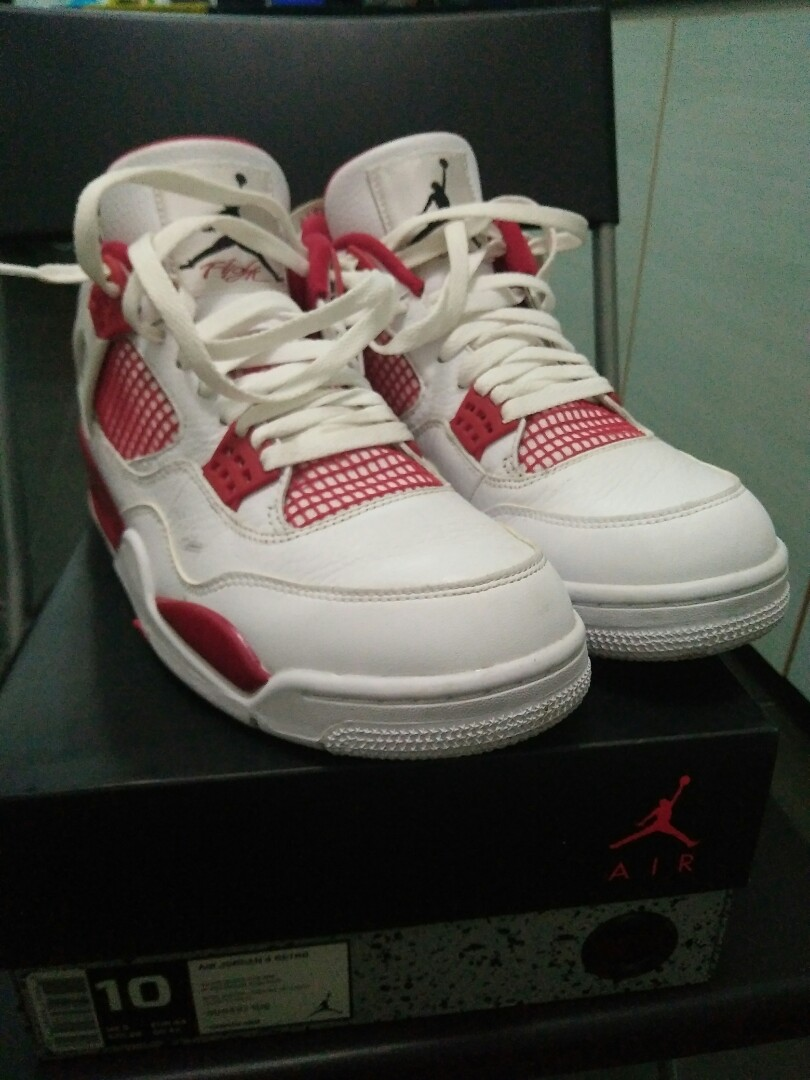 d99c944b3c8 Air Jordan 4 Retro alternate 89, Sports, Sports Apparel on Carousell