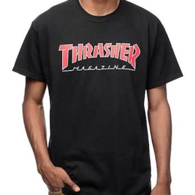 Authentic thrasher tee