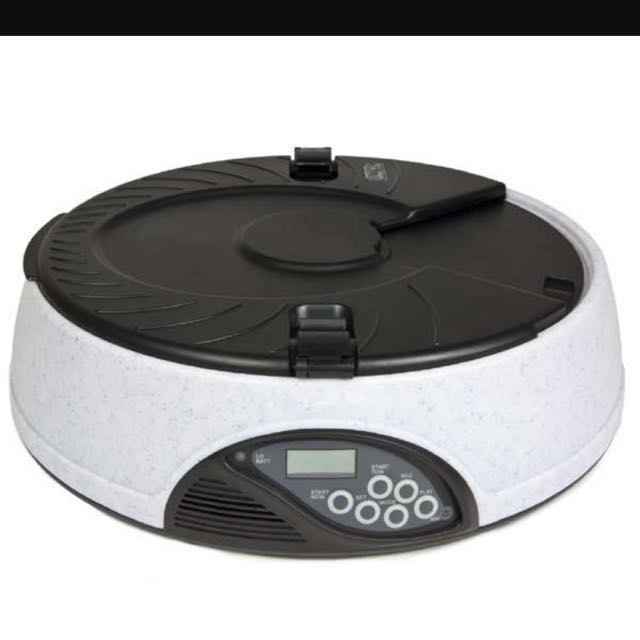 Automatic pet feeder 6 meals