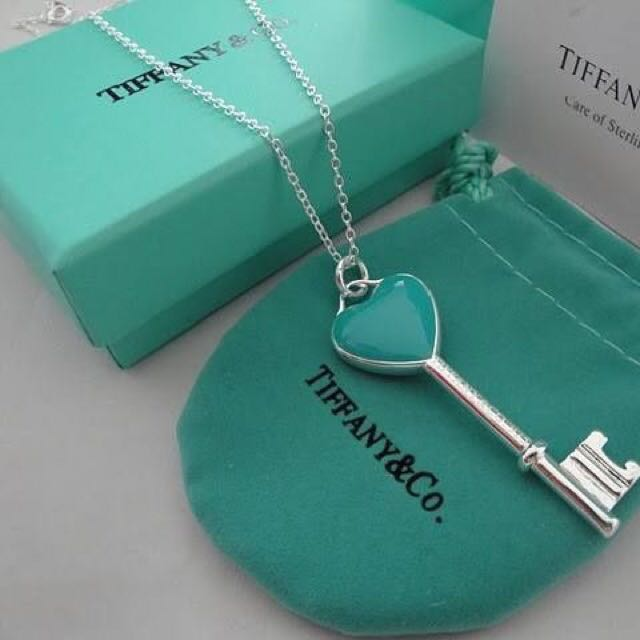 Bnib tiffany co heart key necklace pendant only womens fashion bnib tiffany co heart key necklace pendant only womens fashion jewellery necklaces on carousell aloadofball Image collections