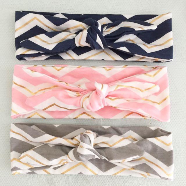Brand New Cute Baby Cotton Knotted Headbands e80a1dea61c