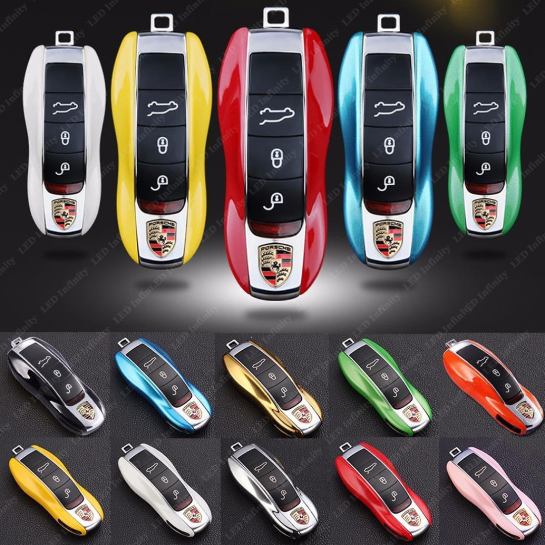 Brand new Porsche Key cover Carbon, many colors with Box