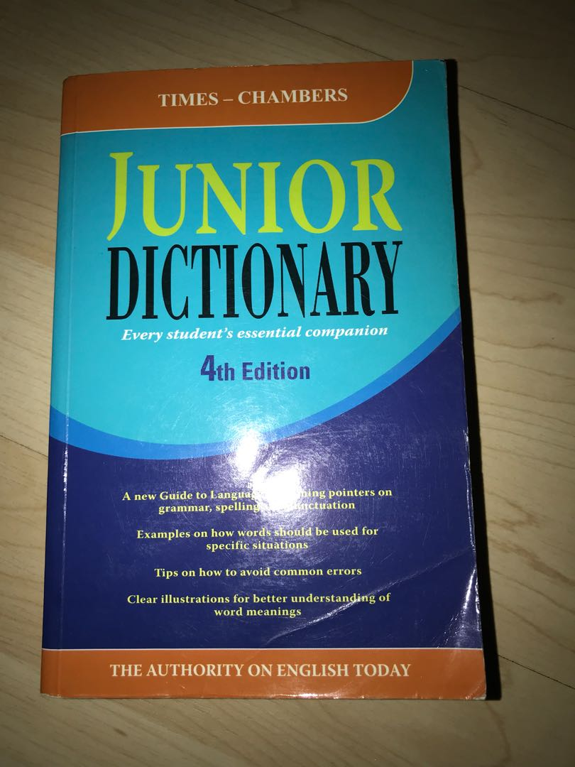 Dictionary For Kids Free Thesaurus With Purchase Books