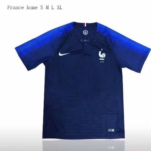 dbe8d1c0 France World Cup Home Jersey, Sports, Sports Apparel on Carousell