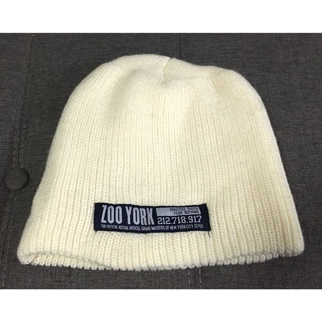 837960a5bea FREE!! AUTHENTIC ZOO YORK BEANIE SNOWCAP JAPAN MADE RARE