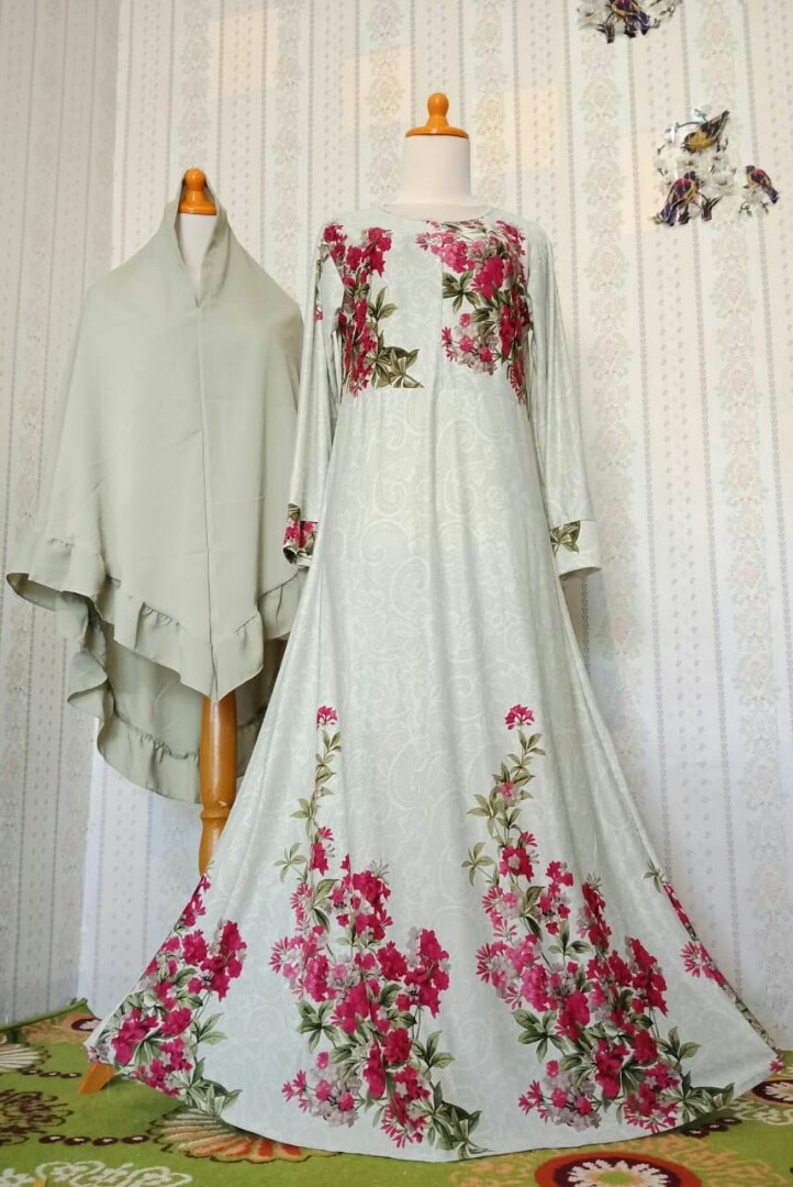 Gamis Daily 3 Olshop Fashion Olshop Muslim Di Carousell