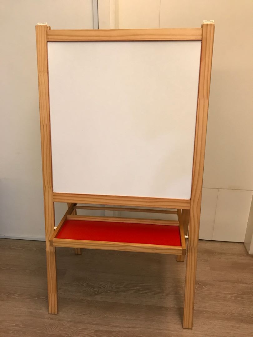 Ikea Mala Easel Whiteboard Blackboard Furniture Others On Carousell