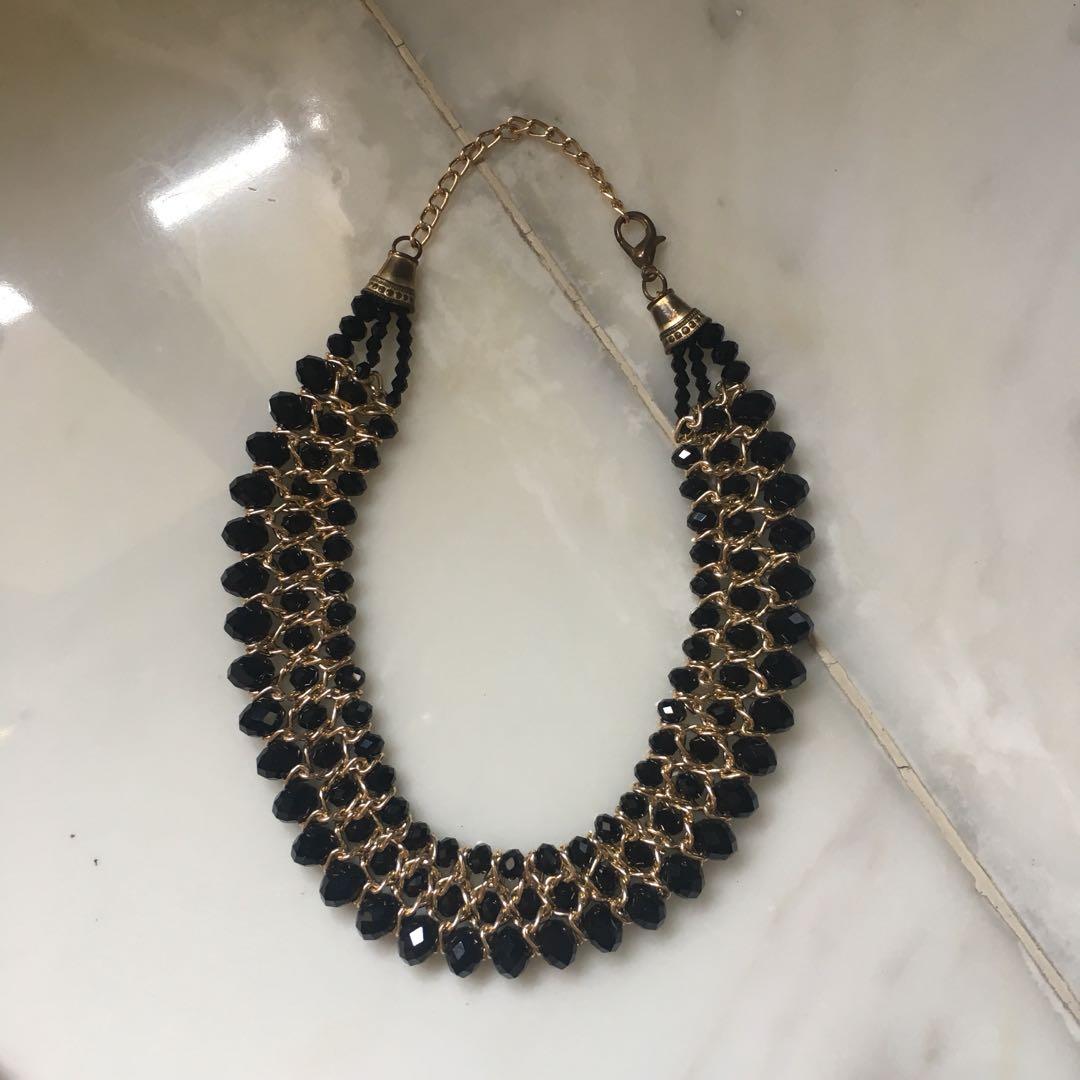 Accessories Panjang 75 Cm - Emas. Source · Kalung Hitam Preloved Fesyen .