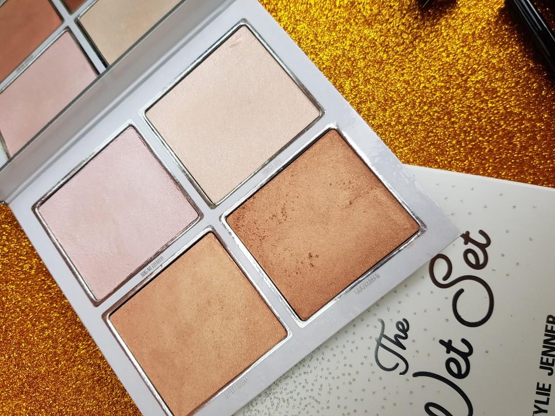 Kylie Cosmetics Lip Kits, Gloss, Velvet & Wet Set Highlight