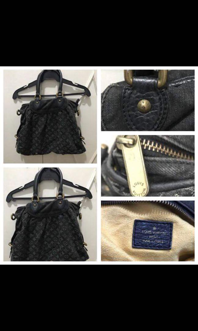Louis Vuitton Denim Shoulder Bag f46f9a1d41e96