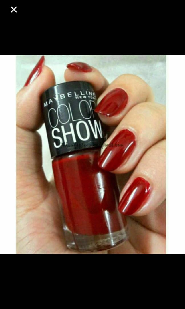 Maybelline New York color show nail Polish by Colorama 352 Dowtown ...