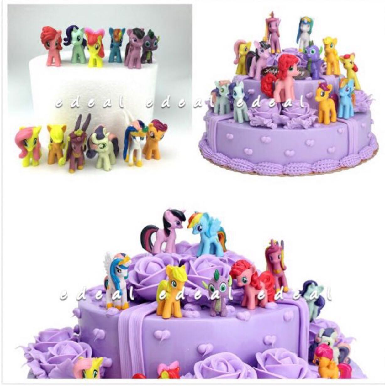 MY LITTLE PONY Cake Topper Toys Games Others On Carousell