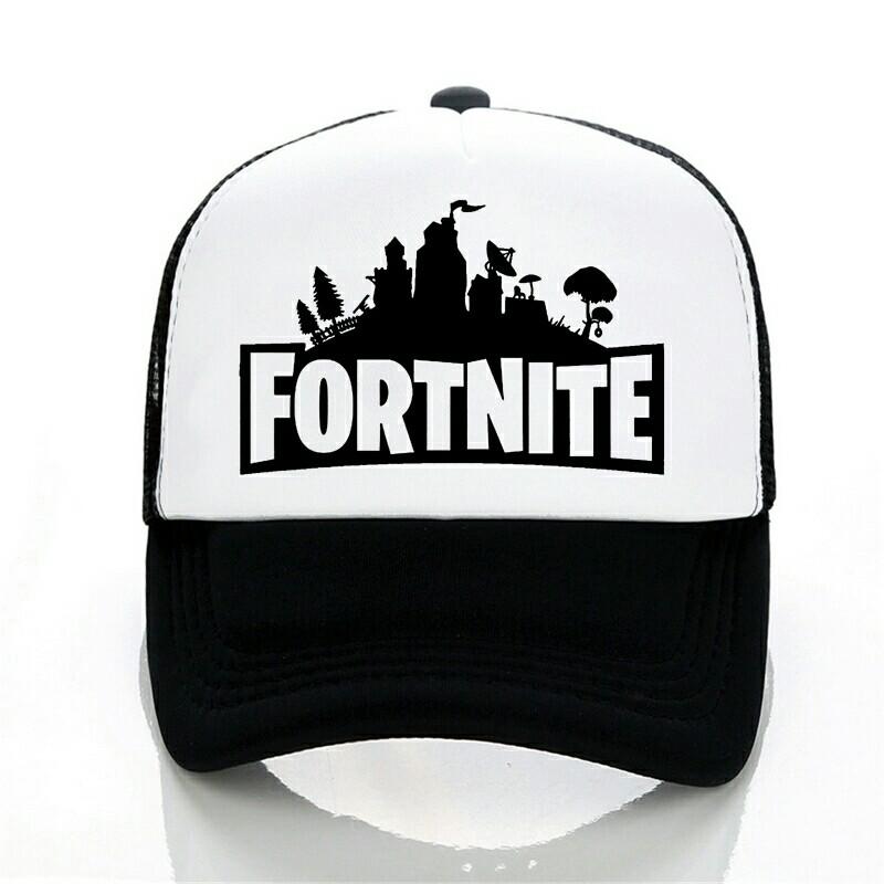 New Arrivals cap Fortnite 3d Print baseball cap Fashion Men women summer  Mesh cap trucker cap c235106dd
