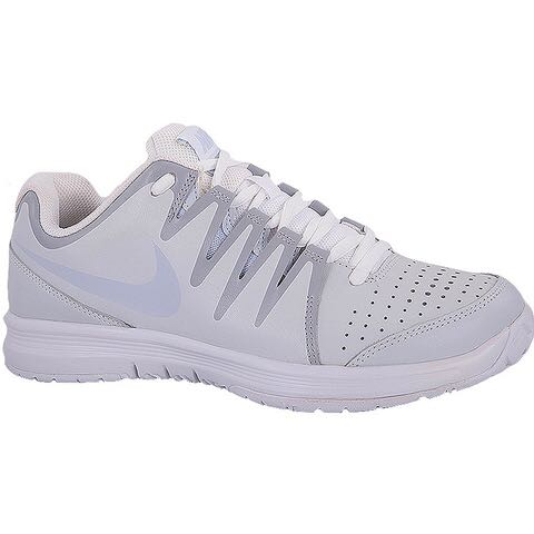 b13997fcda79 Nike Vapor Court Women s Tennis Shoe White Silver