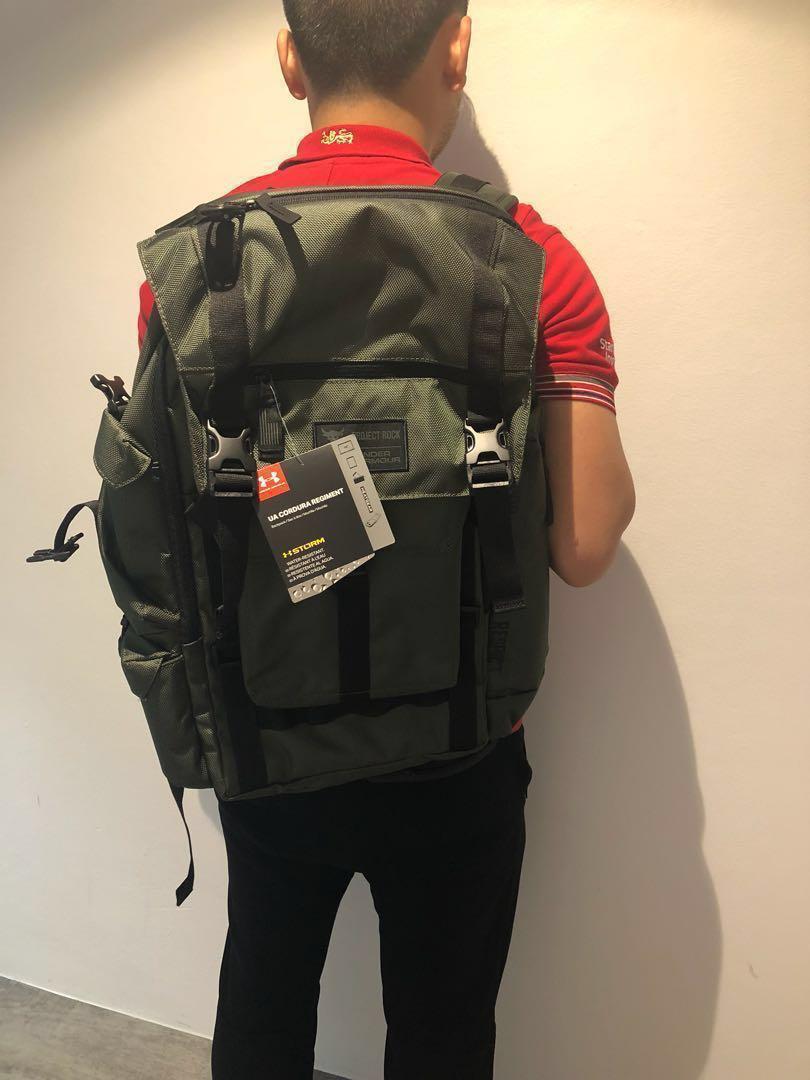 b7e54e7841 NWT Underarmour Project Rock Regiment Backpack