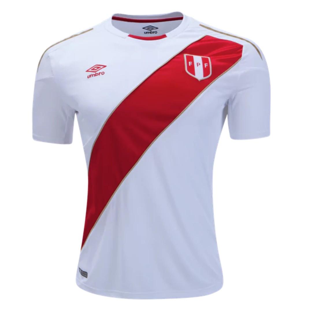 084855b3f Peru 2018 Home Jersey Umbro