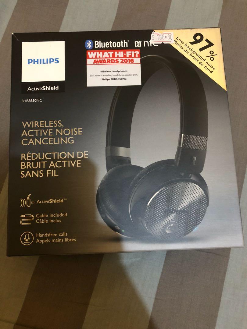 Philips wireless Bluetooth headphones
