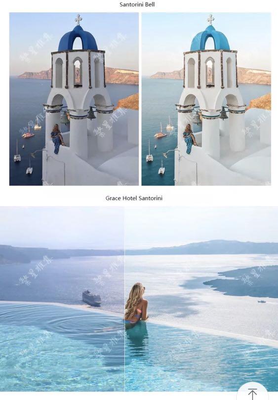 pilotmadeleine Greece travel Lightroom preset pack