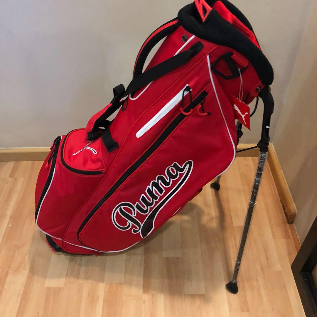 702c43d381 Puma Superlite golf bag (Red)