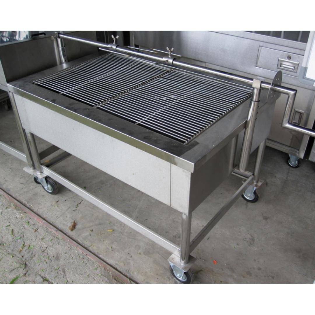 Stainless Steel Lamb Roaster Dapur Kambing Golek Kitchen
