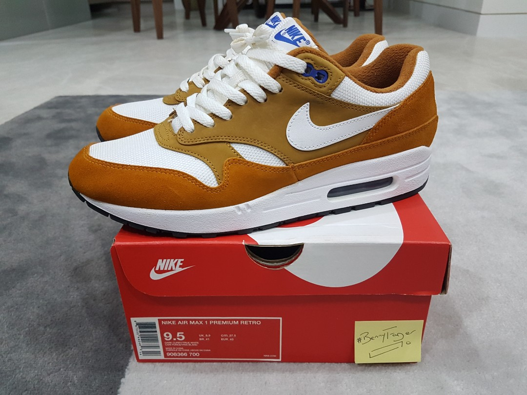 the latest 51d67 5978a Steal USED ONCE 100% Authentic Nike Air Max 1 × Atmos