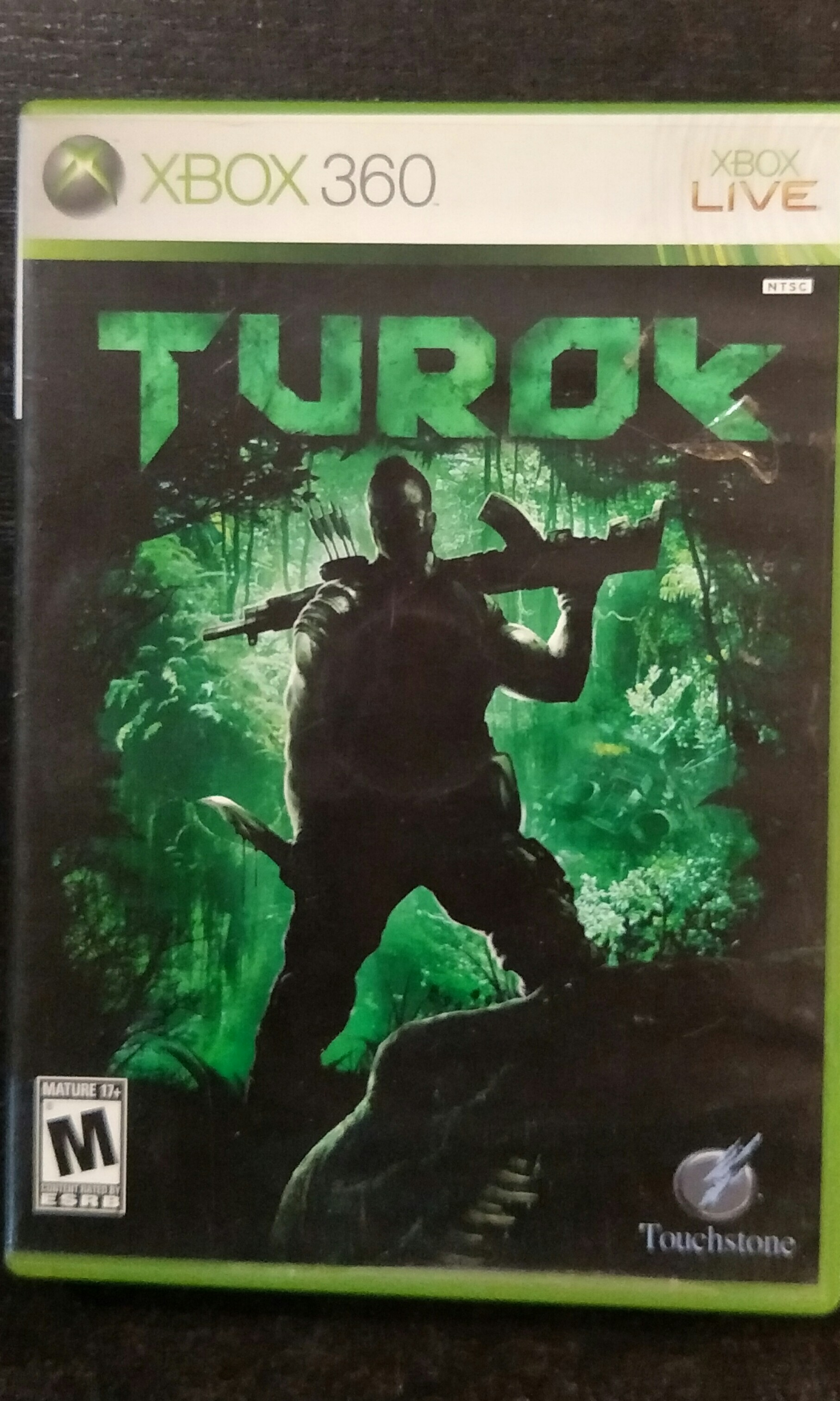 Xbox 360 Turok, Toys & Games, Video Gaming, Video Games on Carousell