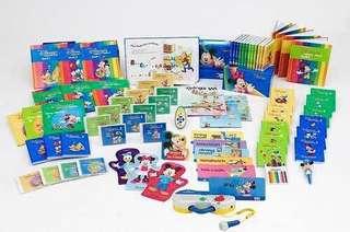 免費迪士尼胎幼教CD/DVD