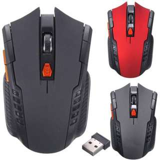 2.4Ghz Wireless Optical Gaming Mouse Mice USB Receiver