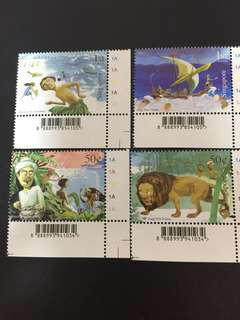 Singapore Stamps Myths & Legend Assorted