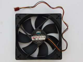 Two 12cm Coolermaster DC Fans for $10