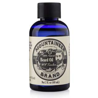 [IN-STOCK] Mountaineer Brand Beard Oil by WV Timber - Scented with Cedarwood and Fir Needle - Conditioning Oil - 2 oz bottle