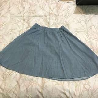 Jeans Midi Skirt