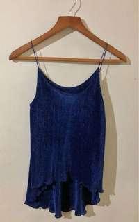 Starpy Midnight blue top