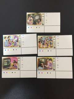 Singapore Stamps 50 years of TV