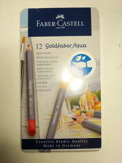 [Free postage] Faber Castell 12 Goldfaber Aqua