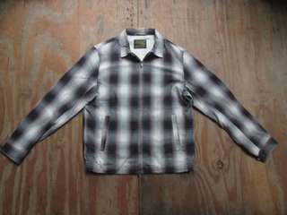 Convoy and funk shao plaid rayon jacket made in japan
