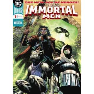 IMMORTAL MEN #1 JIM LEE ART 1st PRINT VERTICAL FOLD OUT COVER