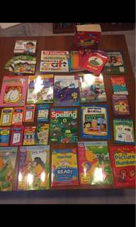Early Learning Readers + Flash Cards